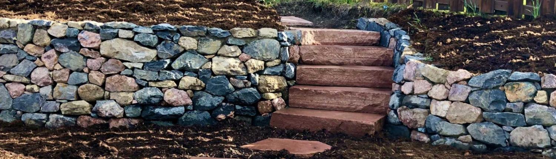 Custom retaining wall Evergreen Colorado