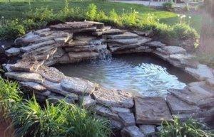 backyard waterfall Parker Coloado